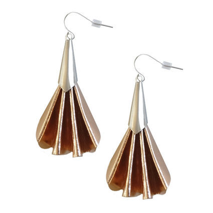 Viuhka earrings | rose gold