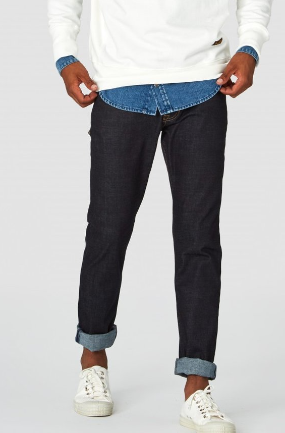Charles Raw Mid Rise Slim | Dry Comfort Stretch