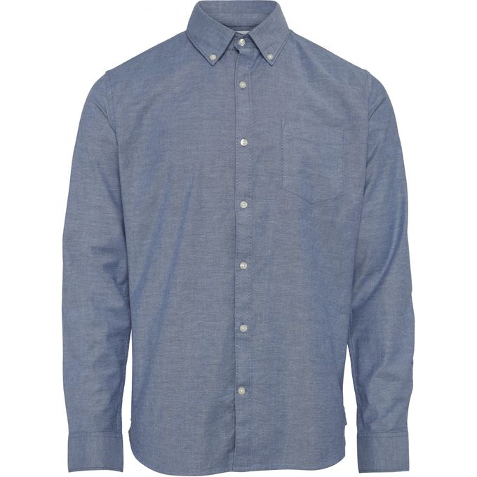 Oxford shirt | dark denim