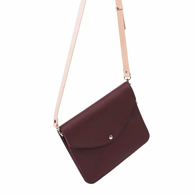 Armi large handbag | wine