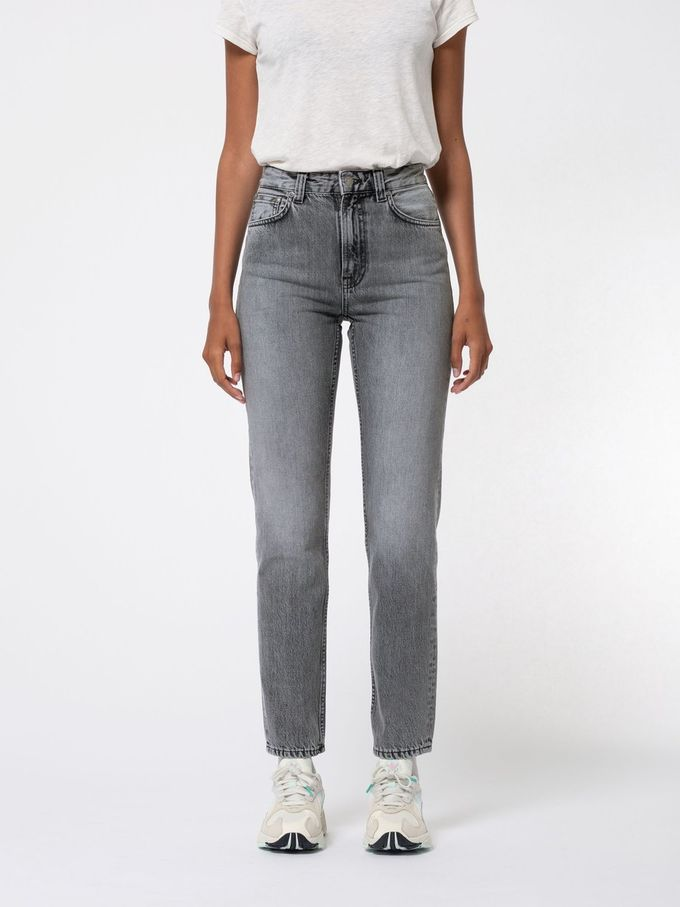 Breezy Britt jeans | lazy grey