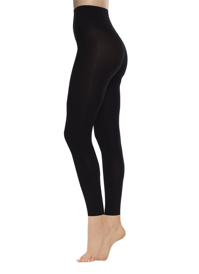 Lia leggings 100 den | black