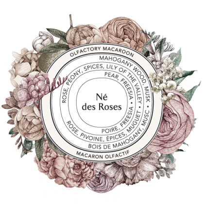 Né des Roses solid soft perfume | parfyymipuikko