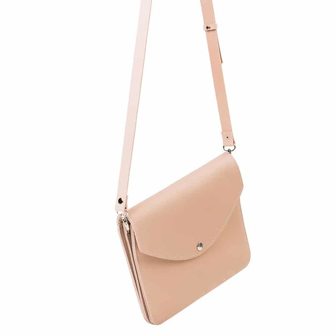Armi large handbag | soft powder
