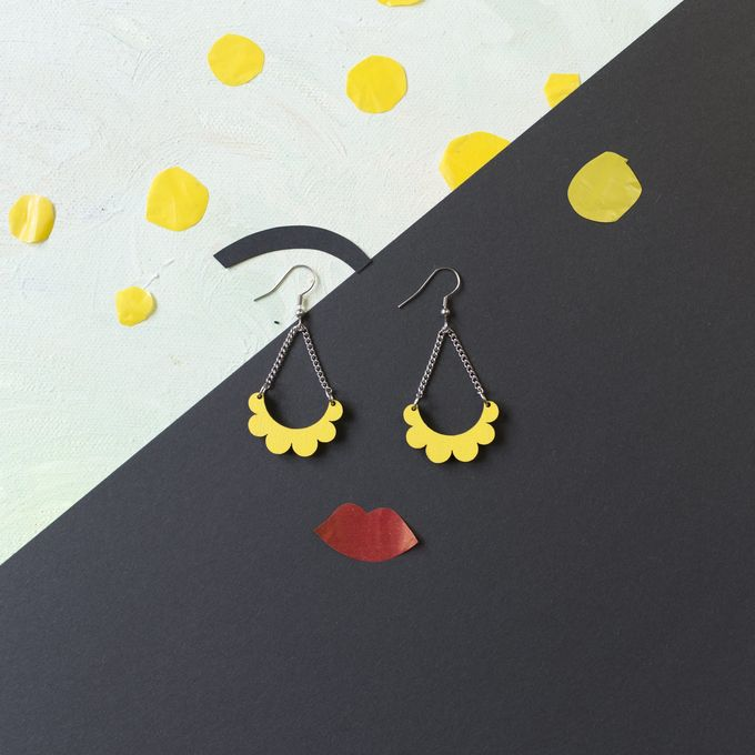 Kaarella mini earrings | yellow
