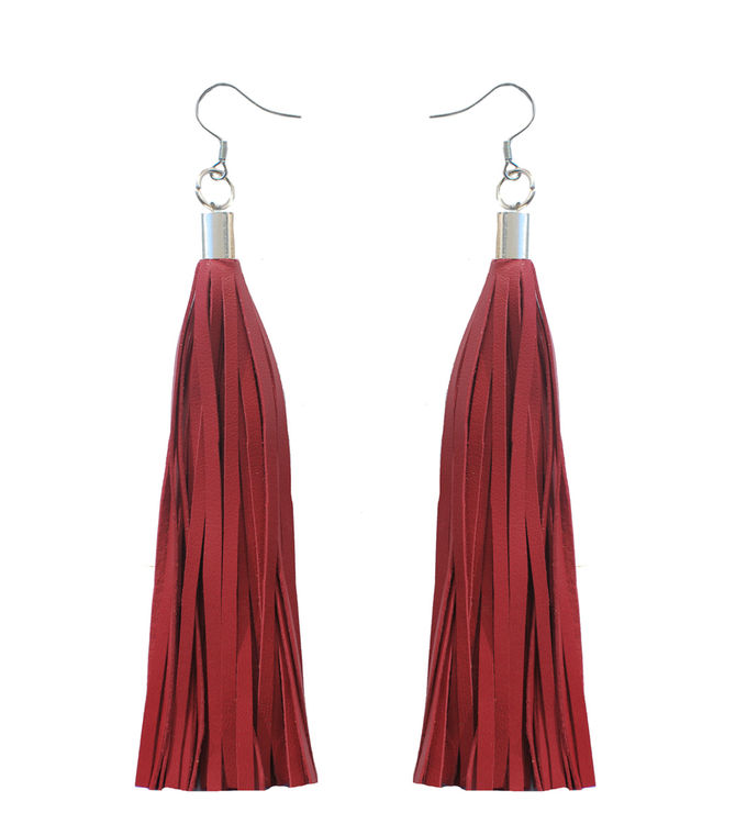 Bright New Dawn earrings | red