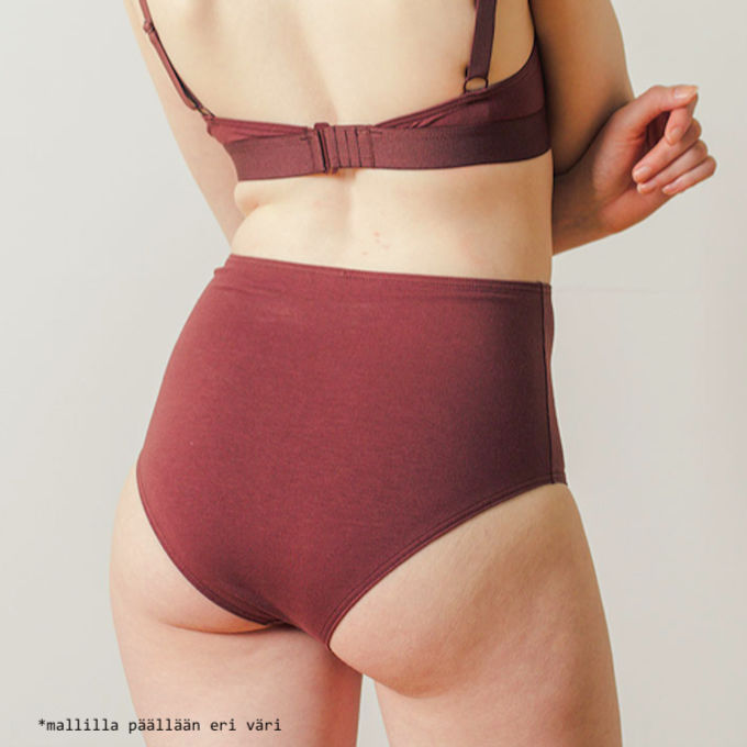 High Waisted brief | pumpkin