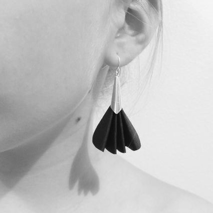 Viuhka earrings | yellow