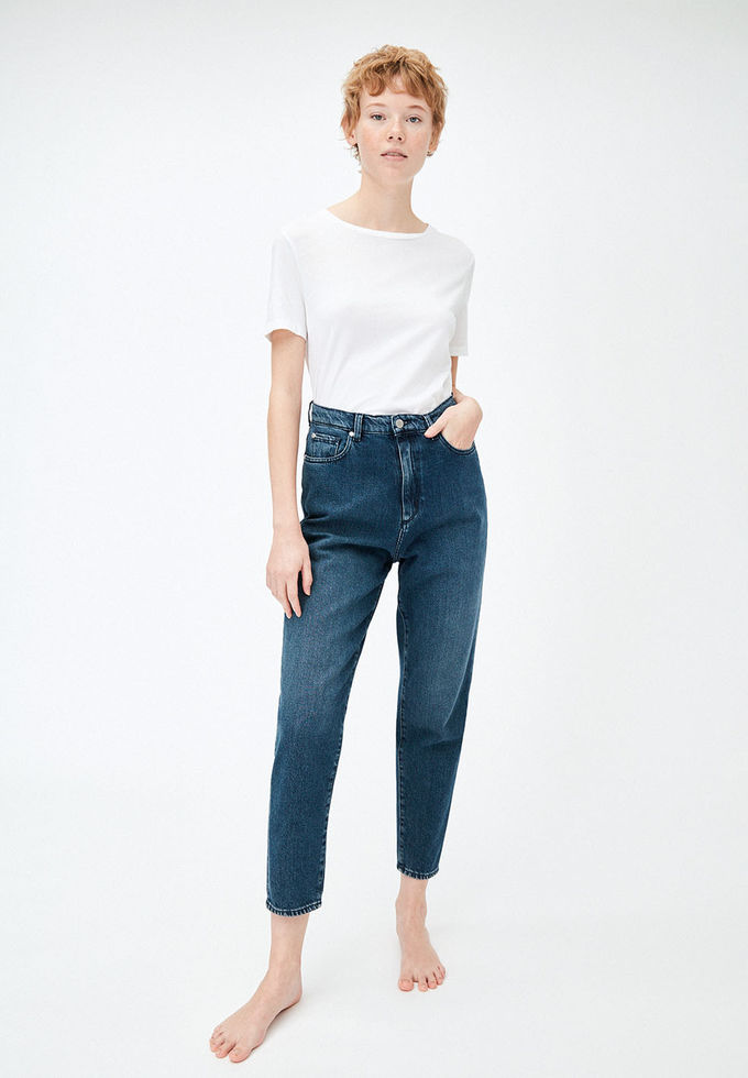 Mairaa mom fit jeans | mid blue