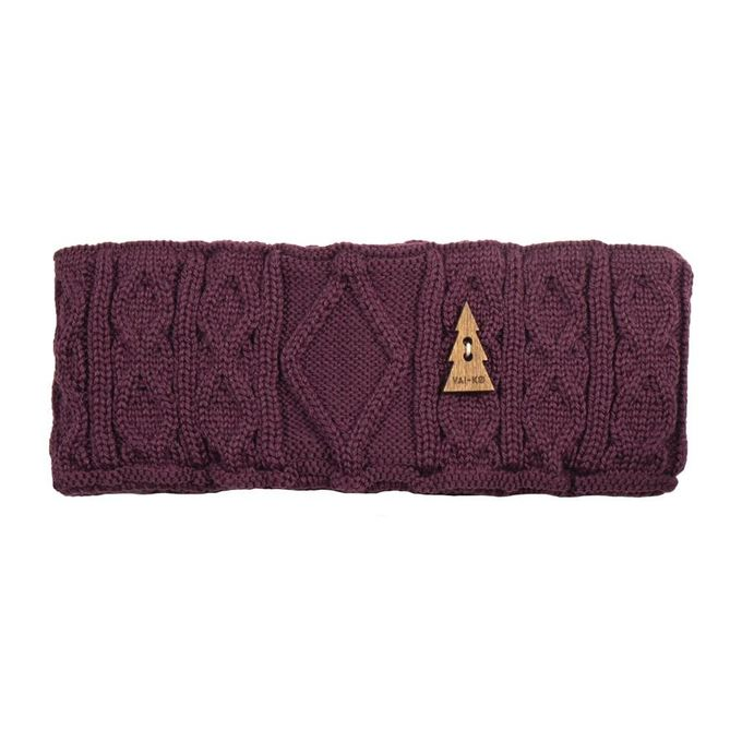 Nelli headband | bordeaux brown