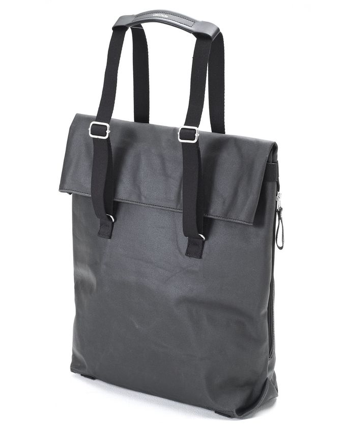 Day Tote | organic jet black