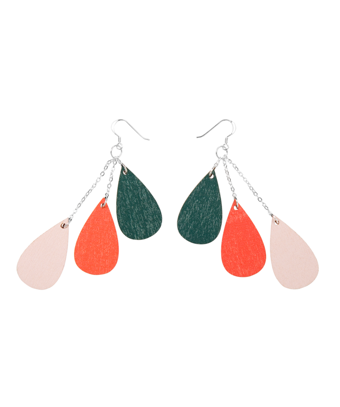 Drop earrings short | Rosy