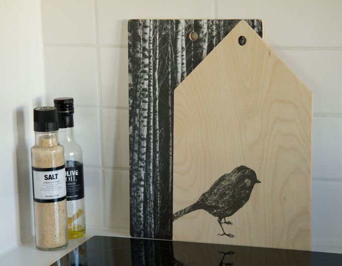 Cutting board Talo | lintu wood