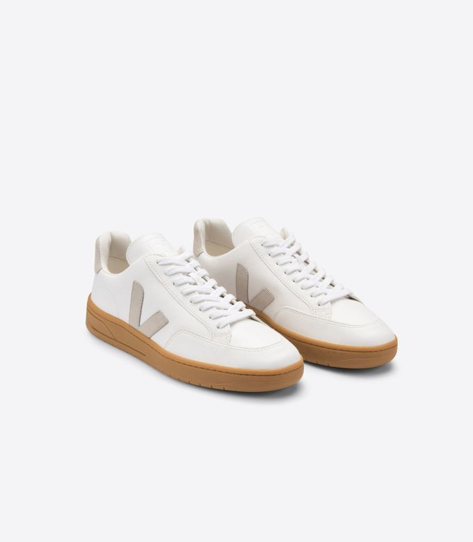 V-12 tennarit | extra-white natural gum sole